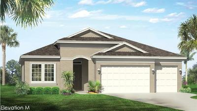 Cape Coral Single Family Home For Sale: 3092 Amadora Cir