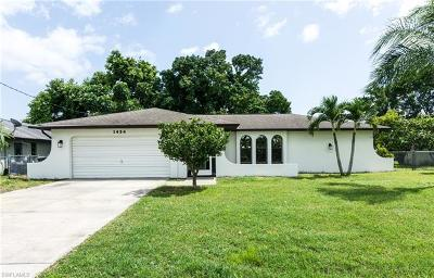 Cape Coral Single Family Home For Sale: 1454 SE 13th St