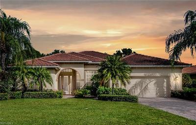 Naples Single Family Home For Sale: 8973 Mustang Island Cir