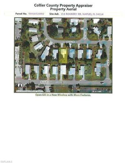 Naples Residential Lots & Land For Sale: 153 Rookery Rd