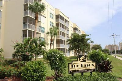 Marco Island Condo/Townhouse For Sale: 801 S Collier Blvd #N-505