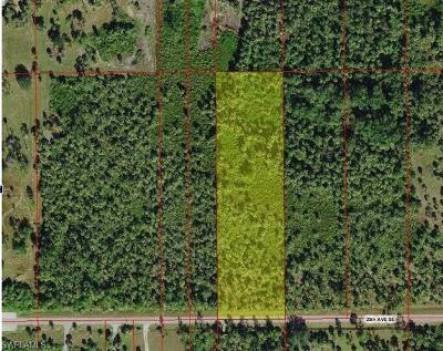 Collier County Residential Lots & Land For Sale: 2637 20th Ave SE