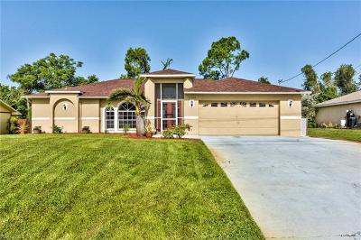 Fort Myers Single Family Home For Sale: 17516 Phlox Dr