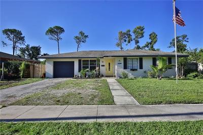 Naples Single Family Home For Sale: 2628 Ponce De Leon Dr