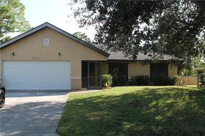 Fort Myers Single Family Home For Sale: 18545 Tulip Rd