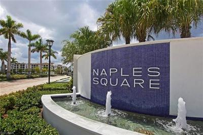 Naples Square Condo/Townhouse Pending With Contingencies: 1030 3rd Ave S #415