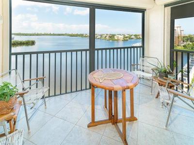 Bonita Springs Condo/Townhouse For Sale: 4835 Bonita Beach Rd #606