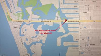 Bonita Springs Boat Slip For Sale: 4751 Bonita Beach Rd