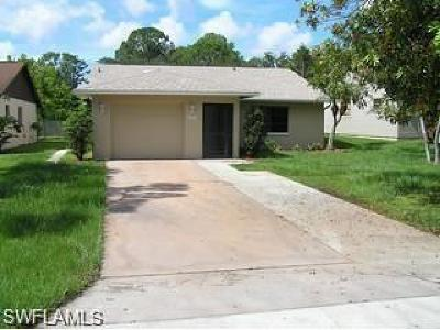 Bonita Springs Single Family Home For Sale: 27705 Tennessee St
