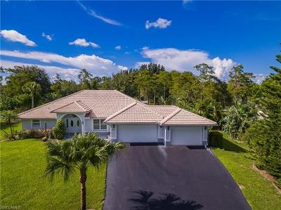 Naples Single Family Home For Sale: 2531 White Blvd
