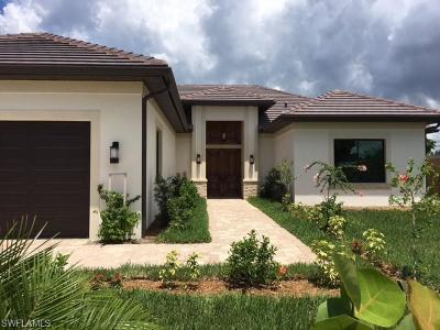 Naples Park Single Family Home Pending With Contingencies: 539 99th Ave N