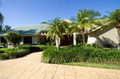 Estero Single Family Home For Sale: 20105 Wildcat Run Dr