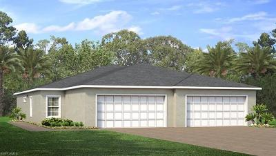 Lehigh Acres Condo/Townhouse For Sale: 19555 Galleon Point Dr
