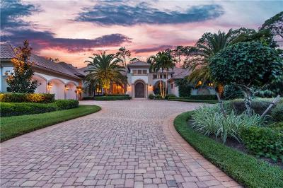 Naples FL Single Family Home For Sale: $2,999,000