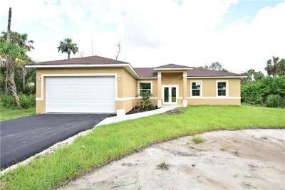 Naples Single Family Home Pending With Contingencies: 3582 Desoto Blvd S