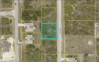 Lehigh Acres Residential Lots & Land For Sale: 1013 Lee Ave