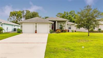 Fort Myers Single Family Home For Sale: 5822 Elizabeth Ann Way