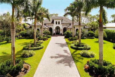 Naples FL Single Family Home For Sale: $2,199,999