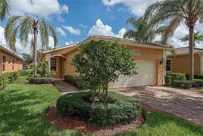 Naples Single Family Home For Sale: 15242 Cortona Way