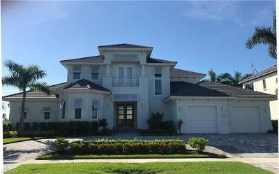Marco Island Single Family Home Pending With Contingencies: 1285 Martinique Ct