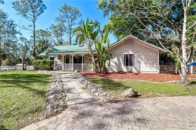 Naples FL Single Family Home For Sale: $895,000