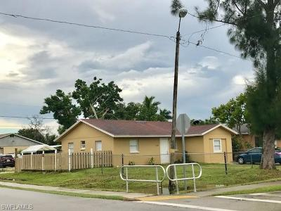 Collier County, Lee County Single Family Home For Sale: 5250 Gilchrist St
