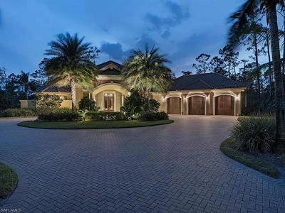 Naples FL Single Family Home For Sale: $1,600,000