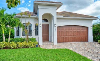 Naples Park Single Family Home For Sale: 693 107th Ave N