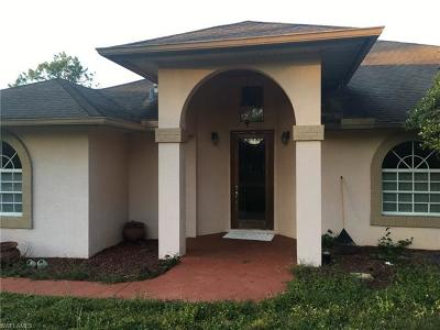 Collier County, Lee County Single Family Home For Sale: 41 33rd Ave NE