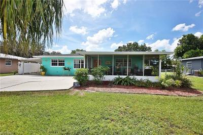 Fort Myers Single Family Home For Sale: 1366 Sirocco St