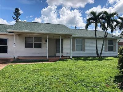 Collier County Single Family Home For Sale: 1736 42nd Ter SW