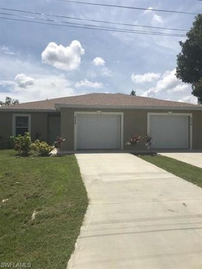 Cape Coral Multi Family Home For Sale: 606 SE 13th Ter