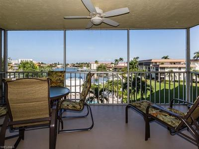 Bonita Springs, Fort Myers Beach, Marco Island, Naples, Sanibel, Captiva Condo/Townhouse Pending With Contingencies: 1011 Swallow Ave #405