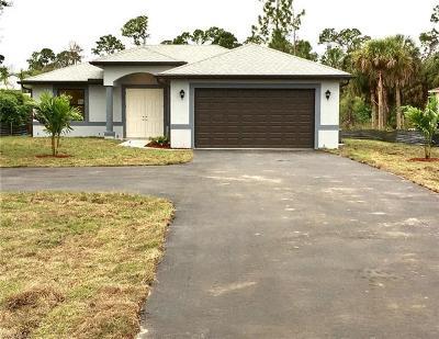 Naples FL Single Family Home For Sale: $319,999