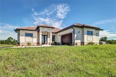 Collier County, Lee County Single Family Home For Sale: 3785 22nd Ave NE