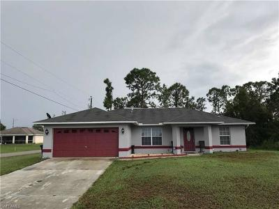 Lehigh Acres Single Family Home For Sale: 4201 35th St SW