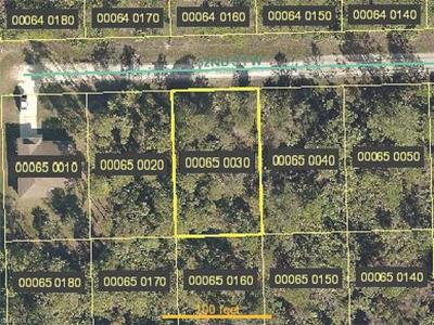 Collier County, Lee County Residential Lots & Land For Sale: 3313 52nd St W