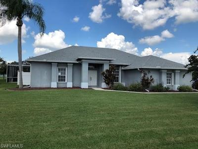 Lehigh Acres Single Family Home For Sale: 548 Foxcreek Dr