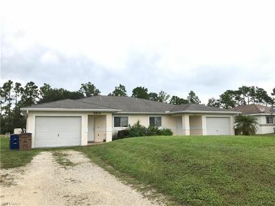 Lehigh Acres Multi Family Home Pending With Contingencies: 4512 Douglas Ln #4512 & 4
