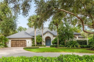 Naples FL Single Family Home For Sale: $2,392,000