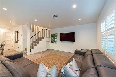 Naples Condo/Townhouse For Sale: 465 Broad Ave S #1D
