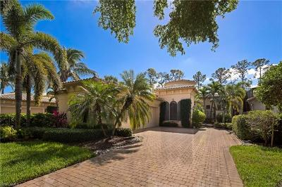 Naples Single Family Home For Sale: 18081 Lagos Way