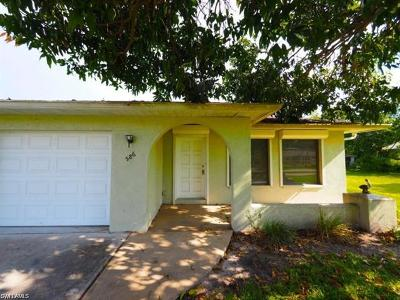 Naples Park Single Family Home For Sale: 586 98th Ave N