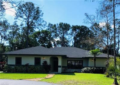 Naples Single Family Home For Sale: 3760 3rd Ave SW