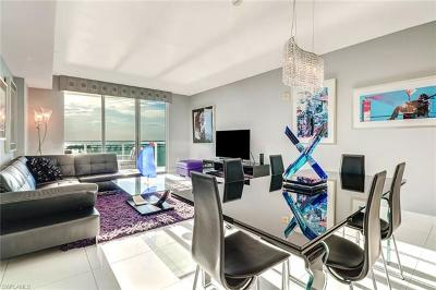 Fort Myers Condo/Townhouse Pending With Contingencies: 3000 Oasis Grand Blvd #2103