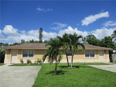 Goodland, Marco Island, Naples, Fort Myers, Lee Multi Family Home For Sale: 4301 Rose Ave