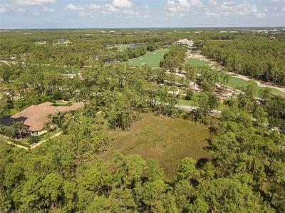 Naples Residential Lots & Land For Sale: 4425 Club Estates Dr