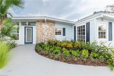 Naples Single Family Home For Sale: 2060 Estey Ave