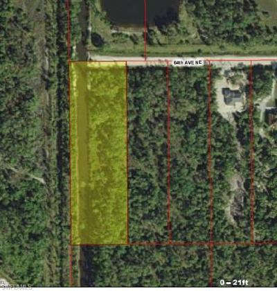 Collier County Residential Lots & Land For Sale: 64th Ave NE