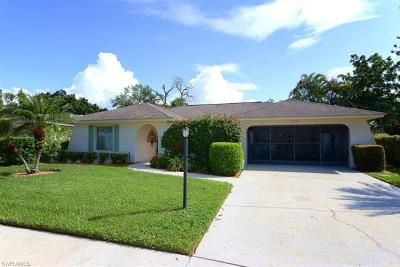 Naples Single Family Home For Sale: 160 Marseille Dr